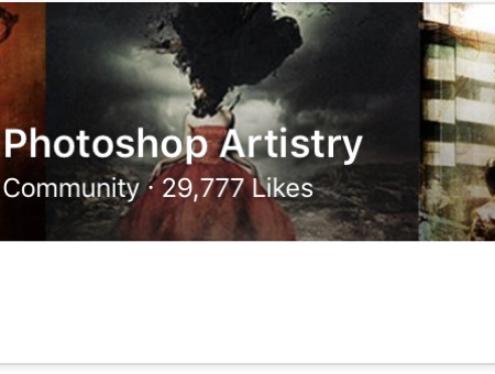 Photoshop Artistry About to Hit 30,000 Likes