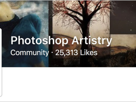 Photoshop Artistry Hits 25,000 Likes